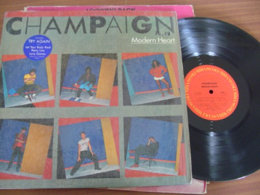 CHAMPAIGN - MODERN HEART - COLUMBIA 1983